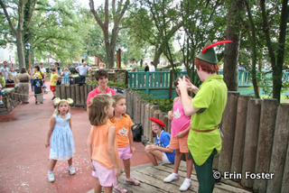 A semi-private character greeting is part of the Magic Kingdom Family Magic tour.