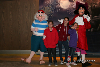 """There are a few human-like  """"fur"""" characters that can not talk. Captain Hook and Smee are two examples of this."""