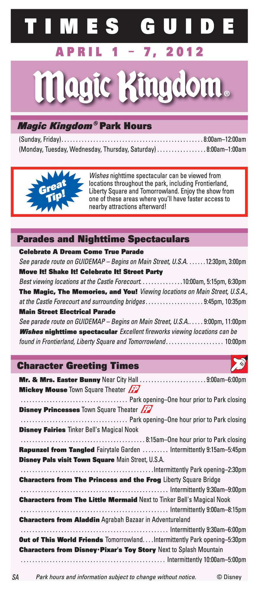 Frequently Asked Questions About Meeting Characters at Disney World ...