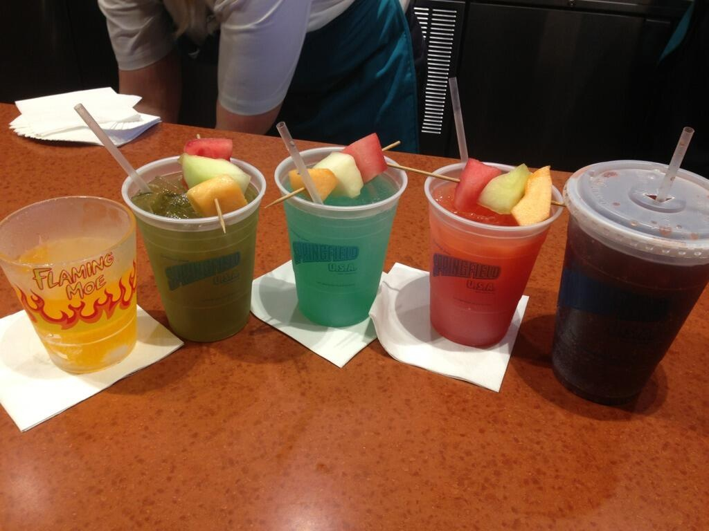 Moe's Drinks