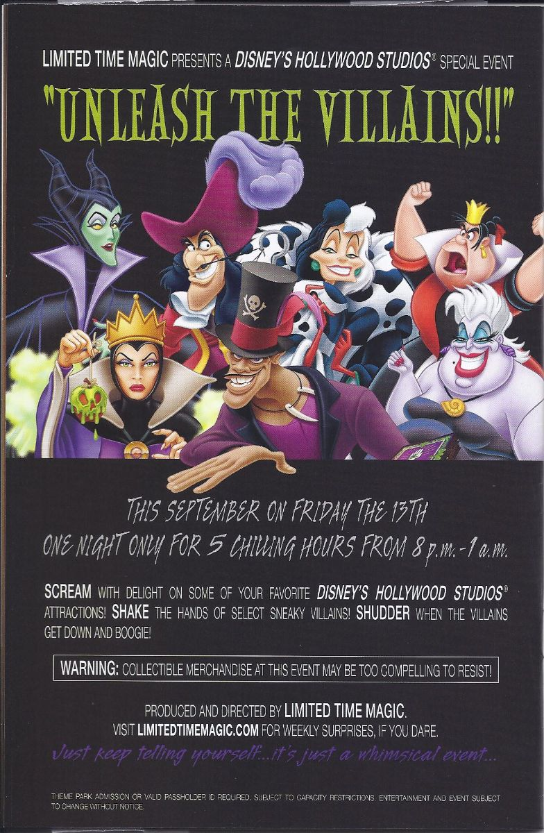 Villains Flyer