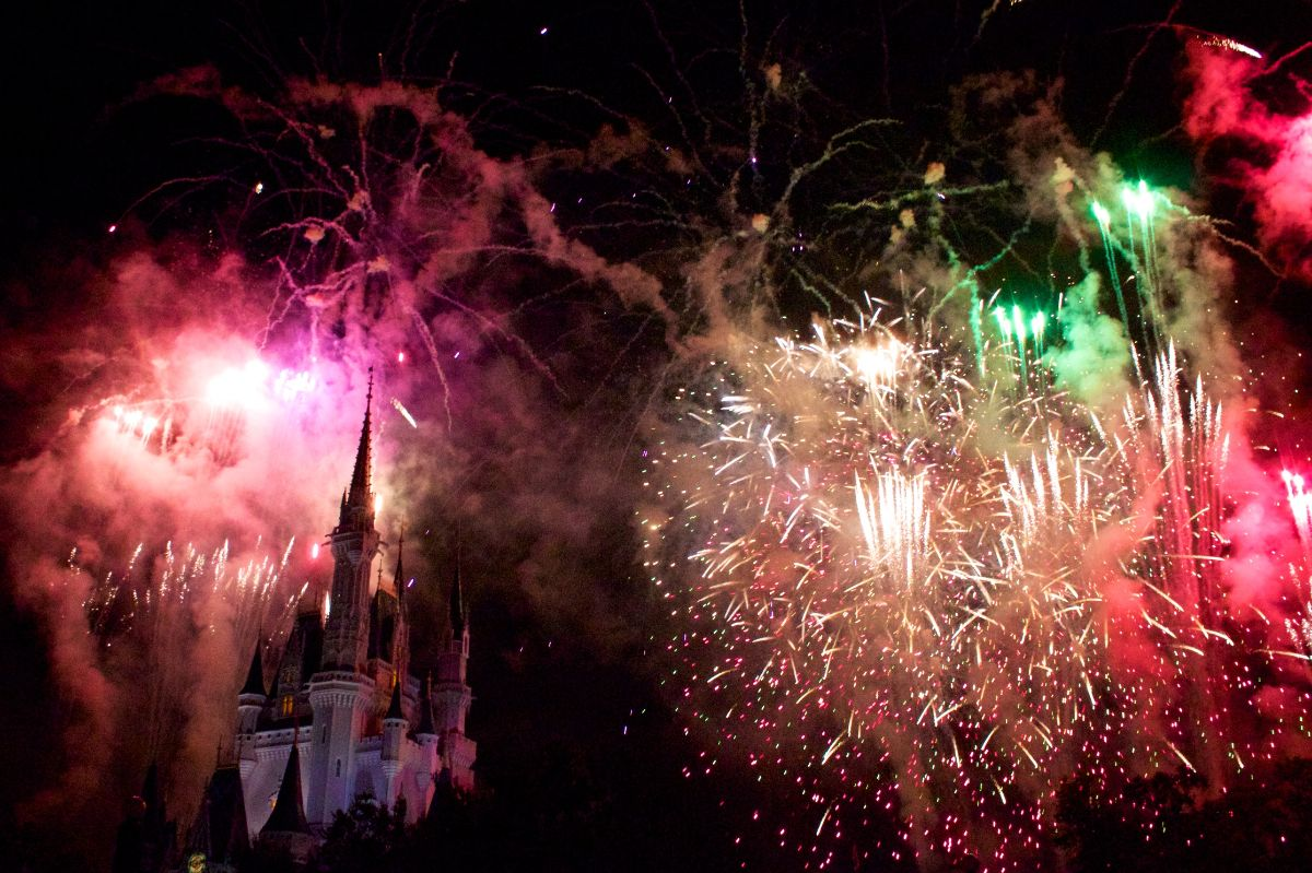 Wishes from the Fastpass+ viewing area