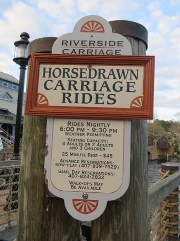 A carriage ride is a pleasant non-park diversion.
