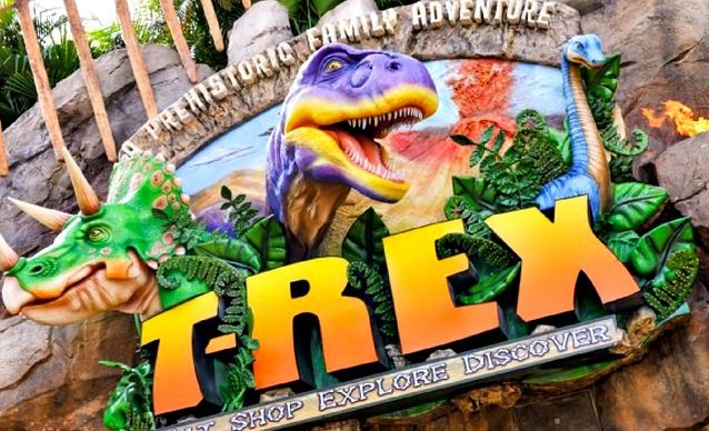 Great places for kids to eat at walt disney world for Disney dining plan t rex
