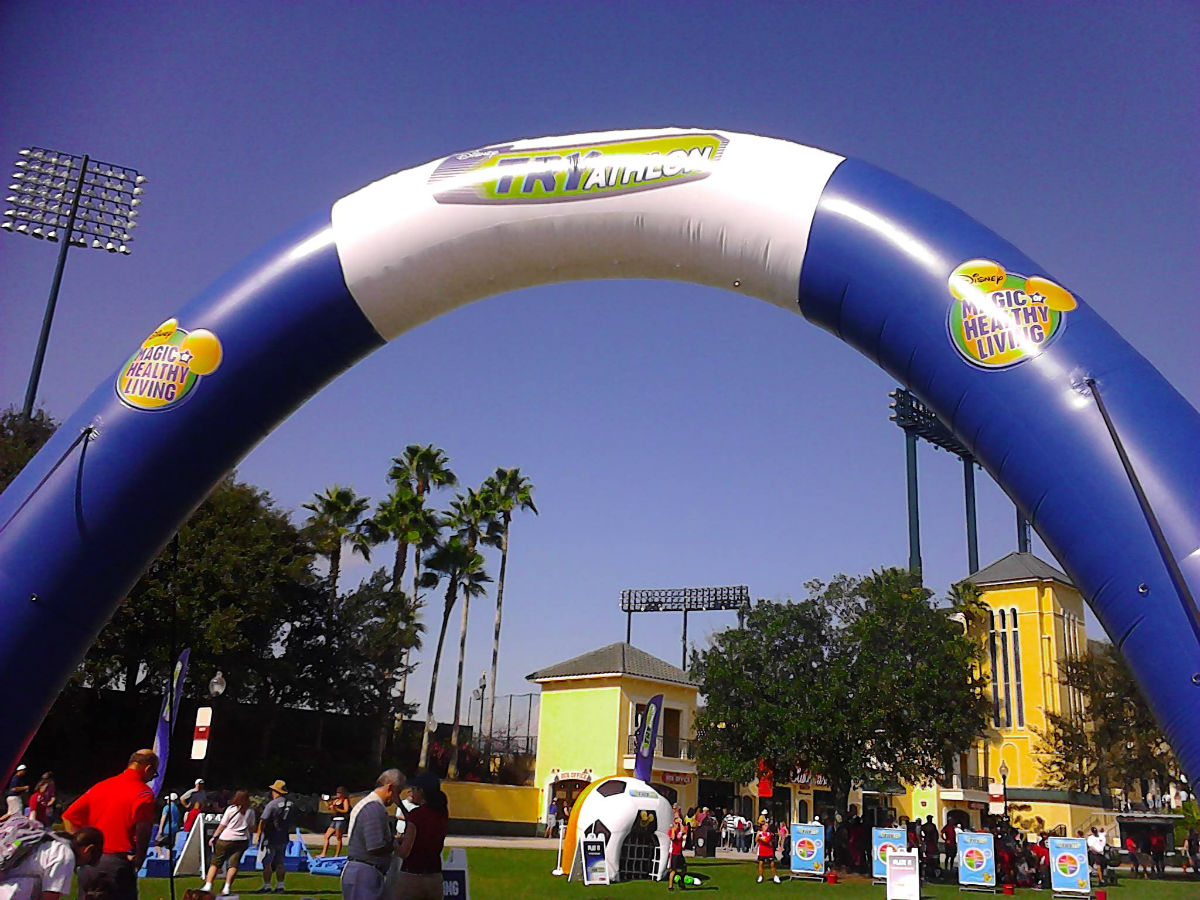 TRYathlon Inflatable Arch
