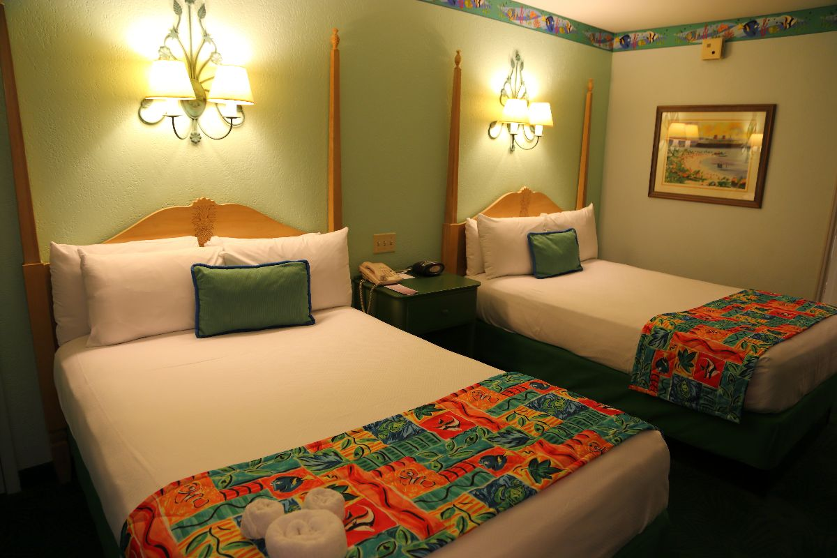 Beds in Resort Room
