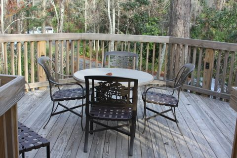 The Saratoga Springs treehouse villas and the Fort Wilderness cabins include dedicated outdoor space.