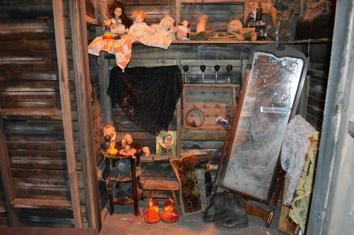 cabin basement