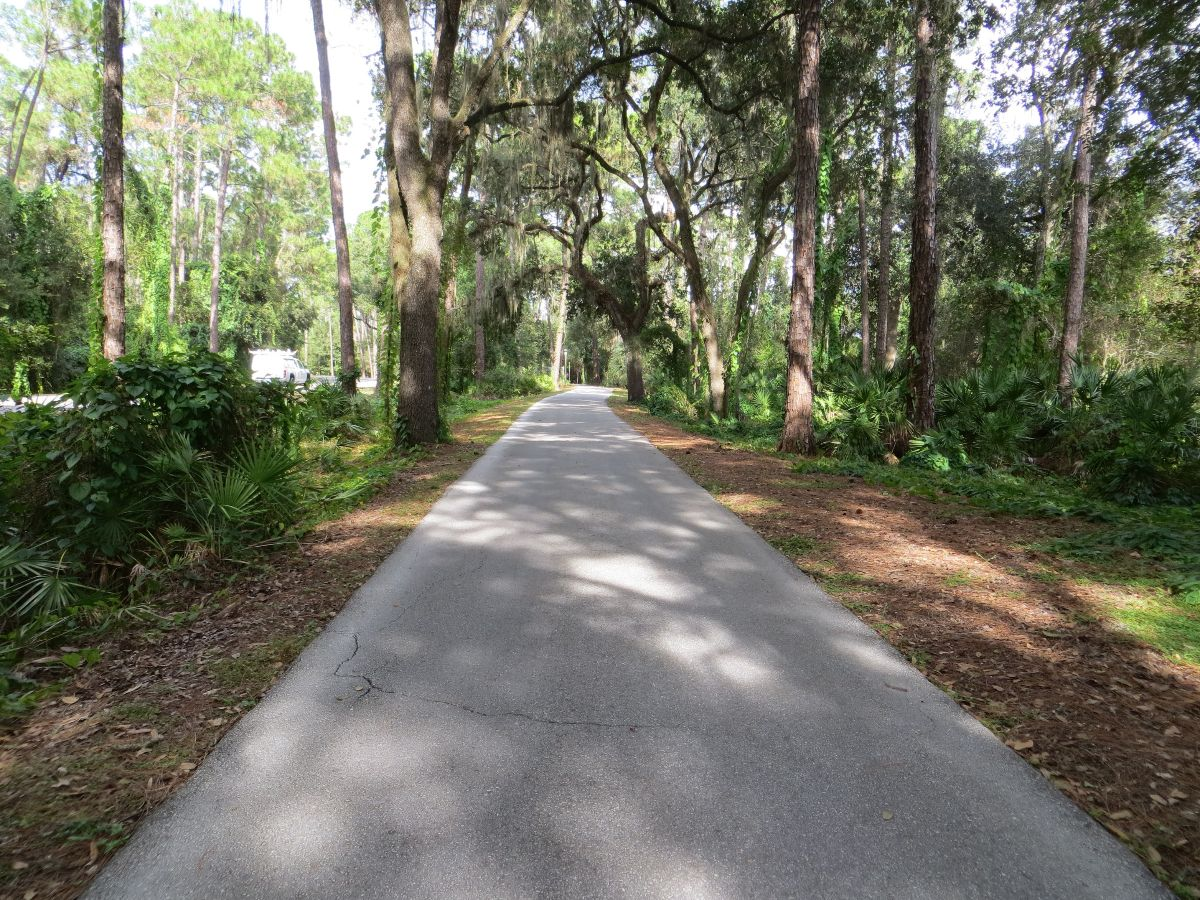 Paved Exercise Path