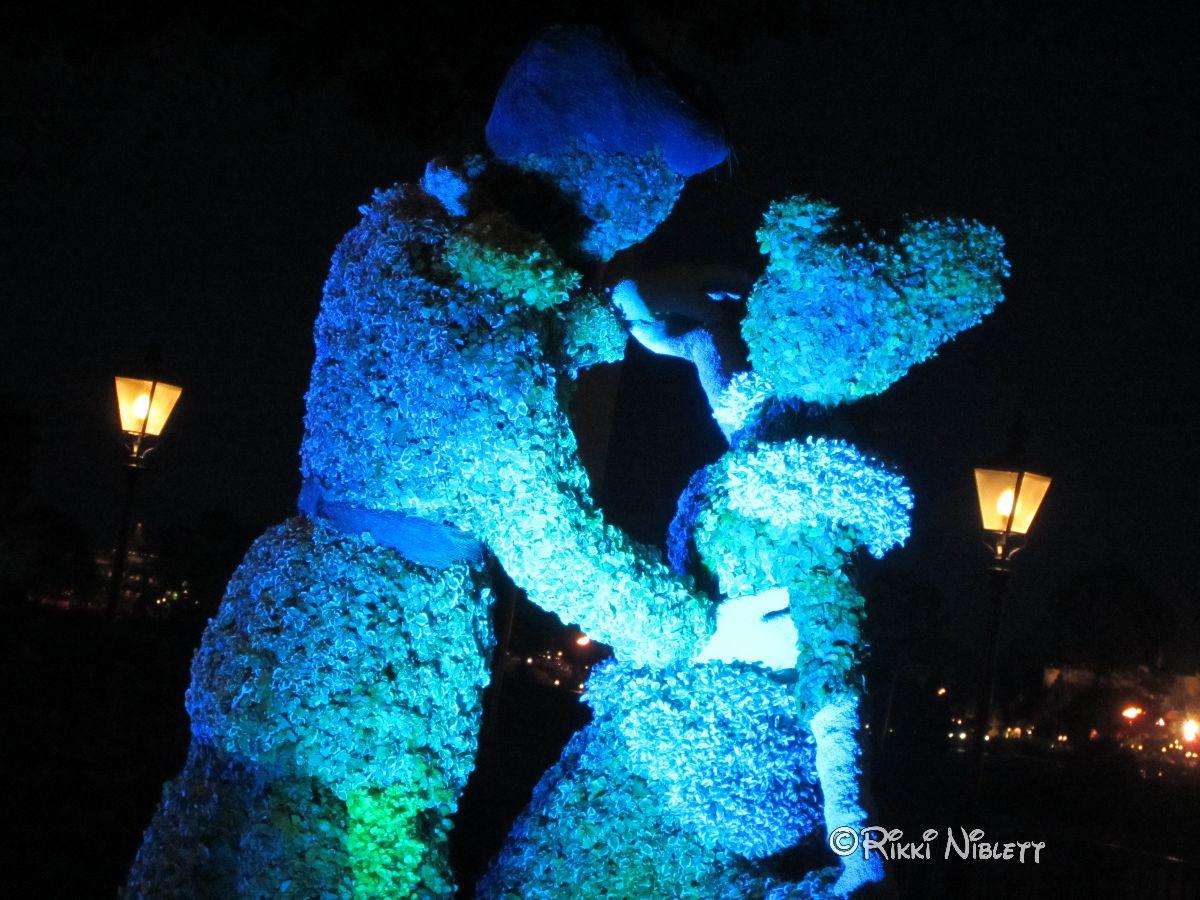 Cinderella Illuminated Garden