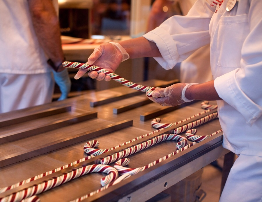 Disneyland handmade candy canes available through Christmas 2013