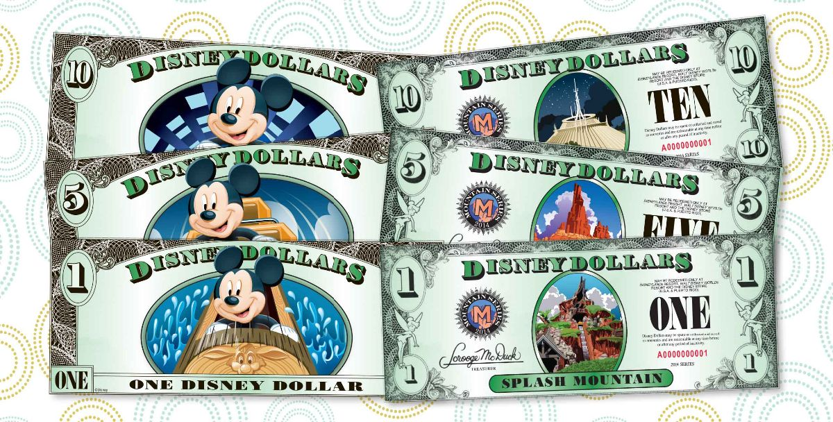 New Disney Dollars Series