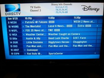 Many of your favorite television stations are not available in your WDW hotel room.