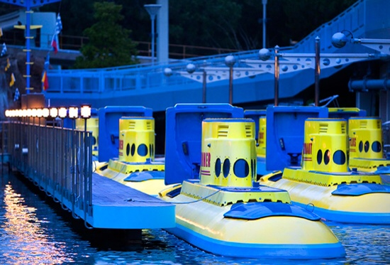 Disneyland Finding Nemo Submarine Voyage refurbishment