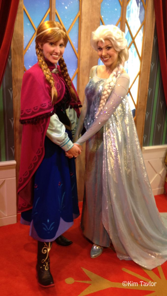 Frozen meet and greet extended at walt disney world m4hsunfo