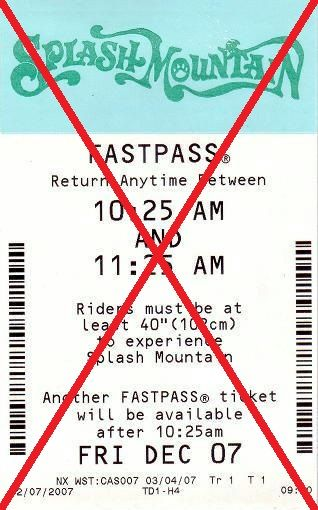 Magic Kingdom Goes FastPass+ Only