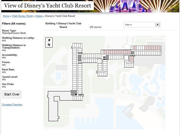 The View from Every Disney Hotel Room: Yacht and Beach Club Resorts ...