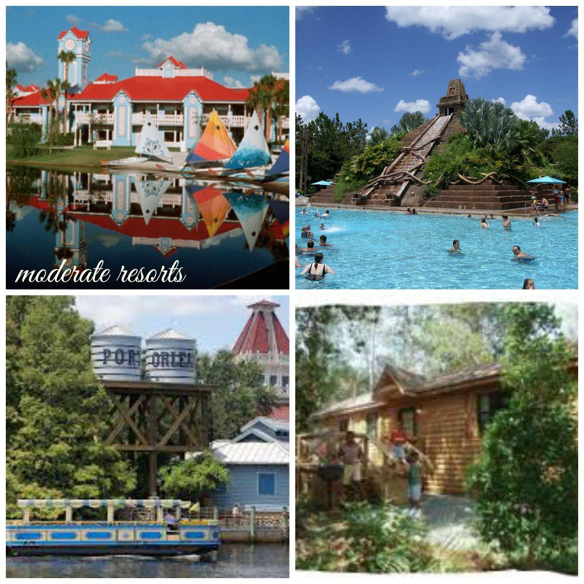 Moderate Resorts