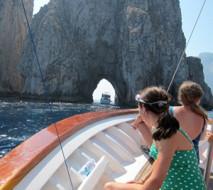 This private boat tour of Capri is only available to AbD guests.