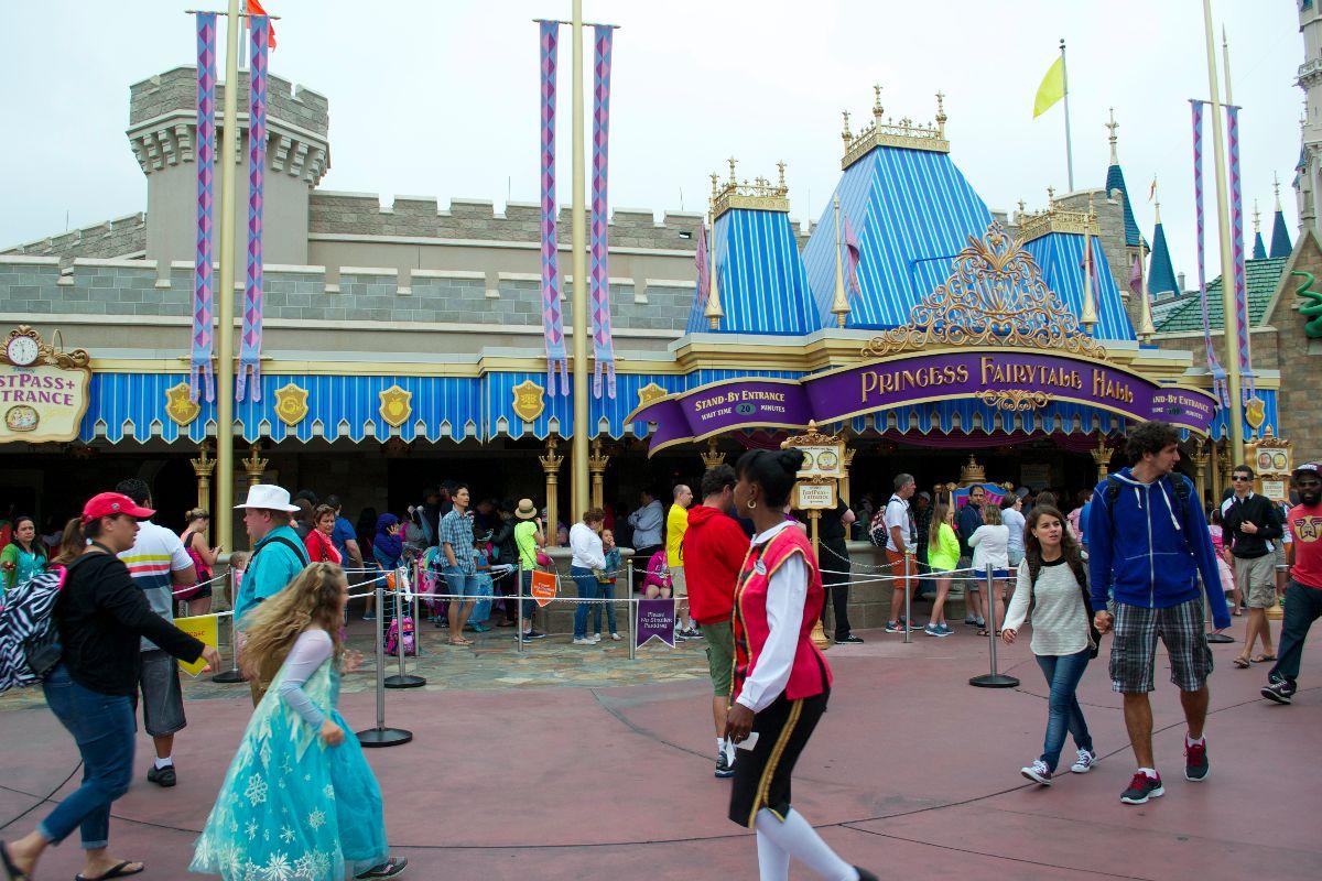 Exterior of Princess Fairytale Hall