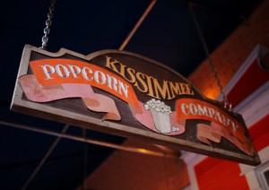 Kissimmee Popcorn Company Sign