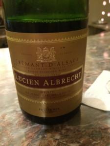 Crémant d'Alsace Blanc de Blanc