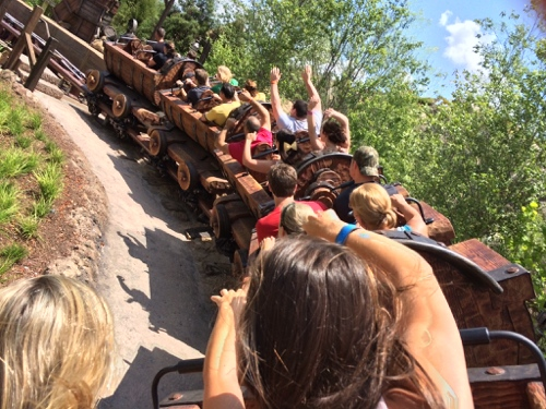 Seven Dwarfs mine train observations