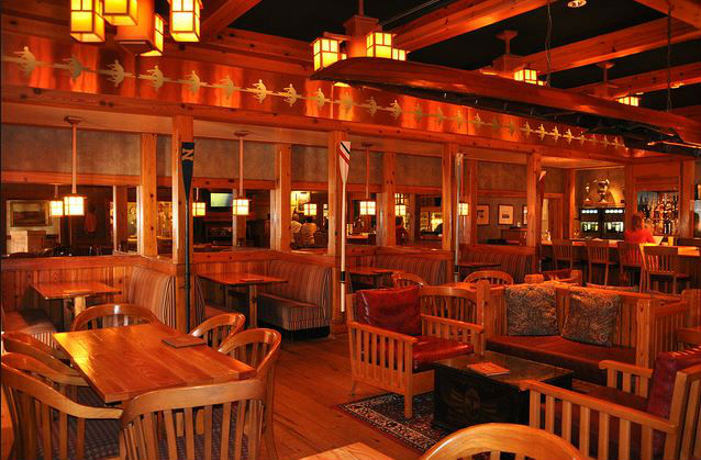 Crew's Cup Lounge at Disney's Yacht Club Resort is a great place for quiet drink and bite to eat.