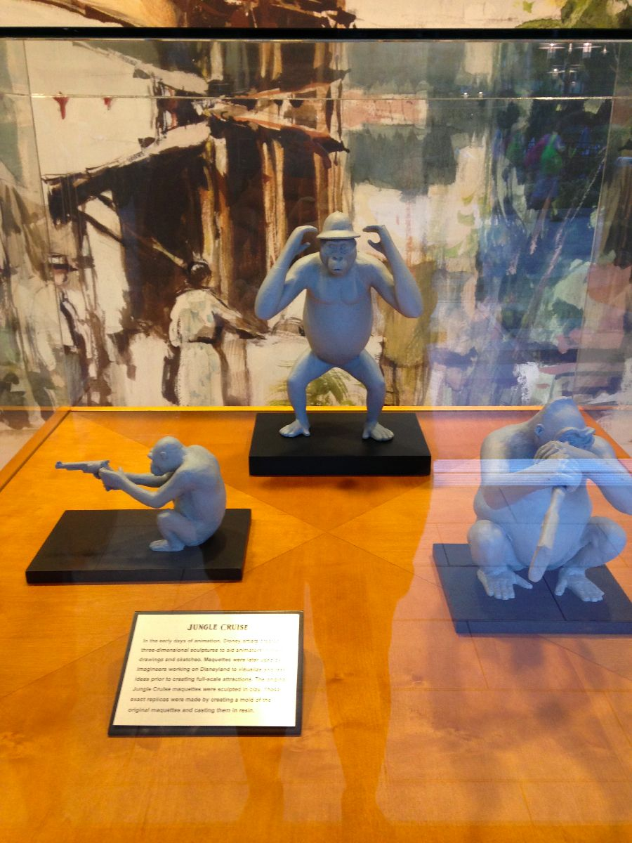 Jungle Cruise Maquettes In The Adventure Tower At Disneyland Hotel