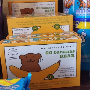 go banana bear, a united kingdom snack