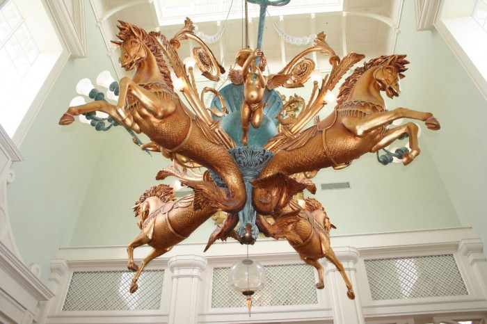 Why is this called an electrolier and not a chandelier? Find out on the tour!