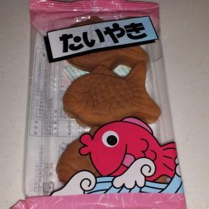 Red Bean Paste Fish Bun