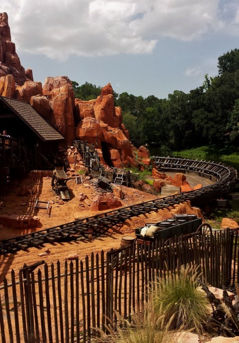 Thunder Mountain Track at the Magic Kingdom