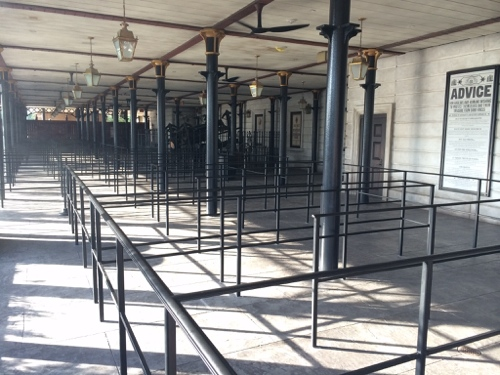 Empty Gringotts Queue