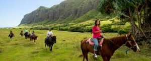 Horseback Riding ©Disney