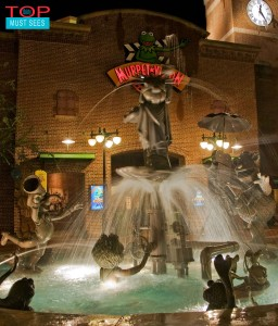 Muppet Fountain (photo by Tom Bricker)