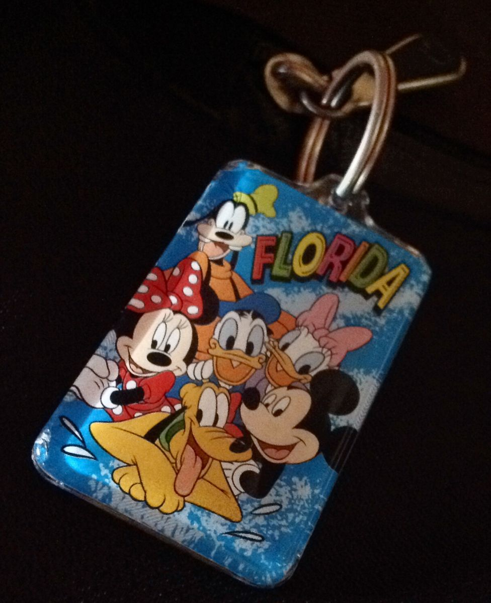 Disney key ring