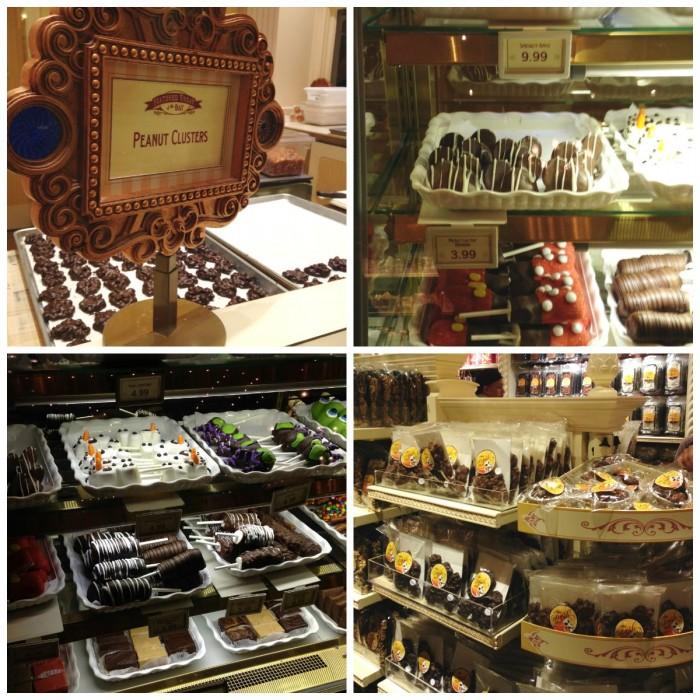 Chocolate Nonpareils White Dunmore Candy Kitchen: Menu Monday: Best Disneyland Candy