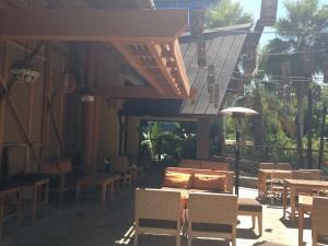 Trader Sam's patio - Natalie Reinert
