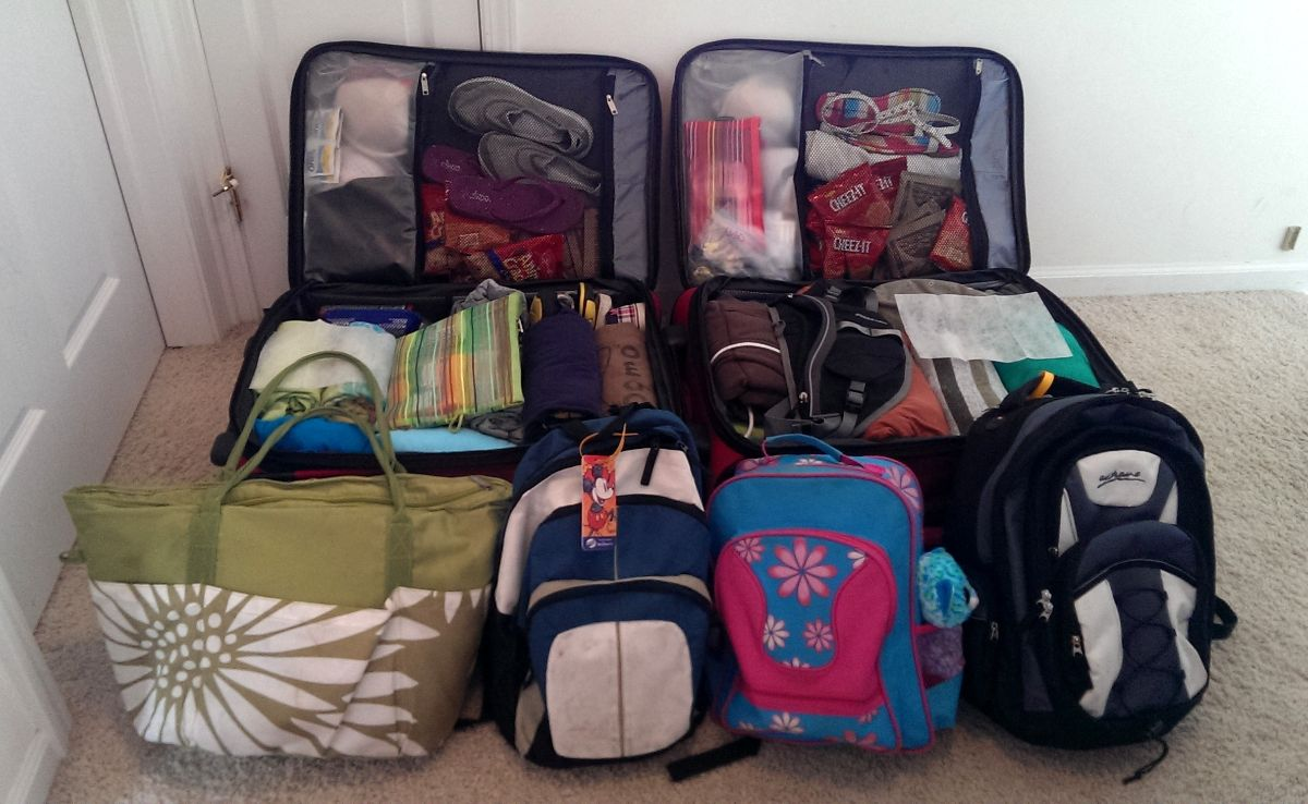 Packing for Disney in Two Suitcases - TouringPlans.com blog ...