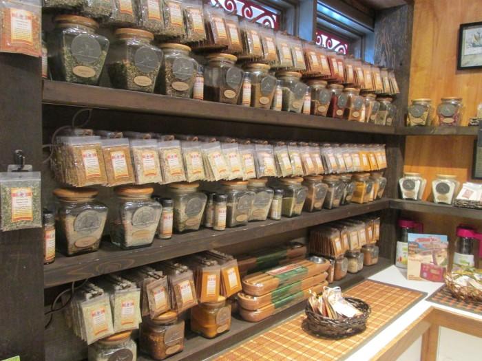 Spices, herbs, and teas