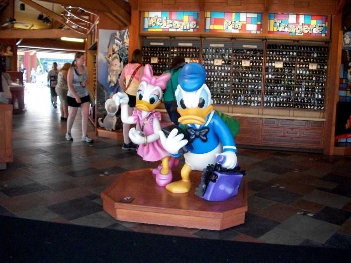 Disney Pin Trading - A Glass Slipper Vacation