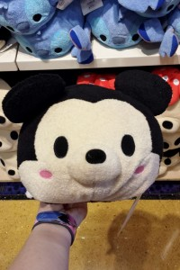 This medium Minnie Mouse Tsum Tsum is $12.95 and is 11 inches long.