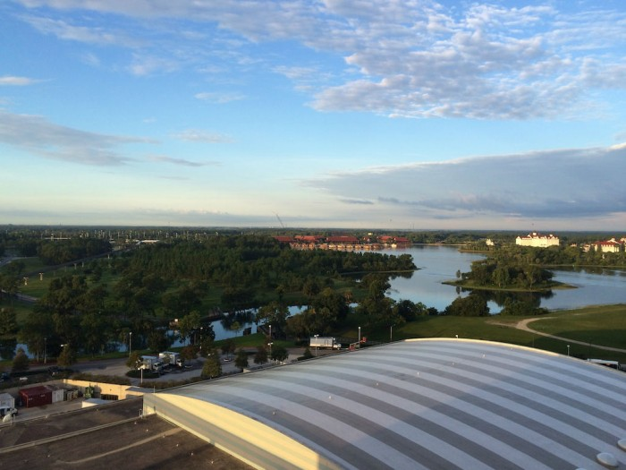 Atrium Club Level At Disney S Contemporary Resort