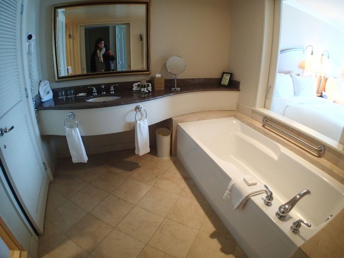 Fairmont Airport bathroom