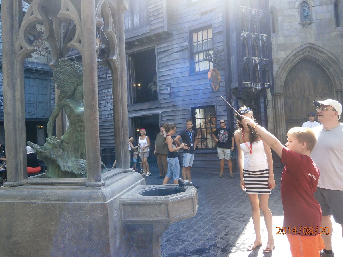 Interactive wand by Wizard Kieran