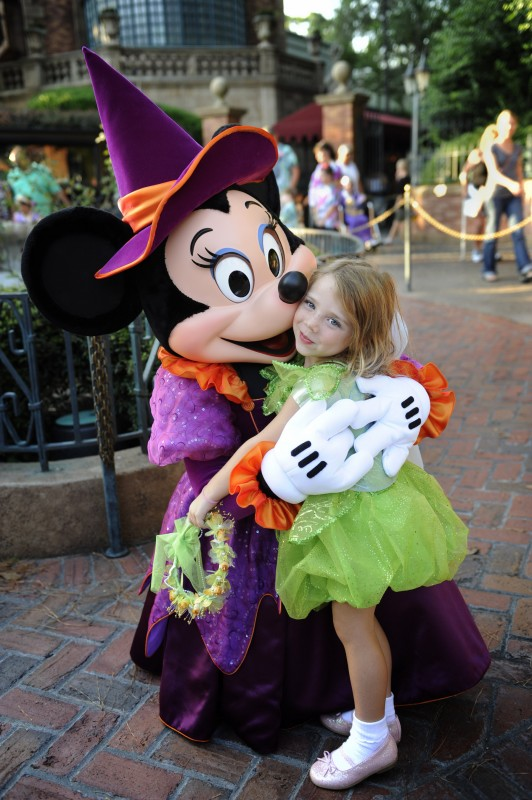 Disney character meet and greets strategies for shy children witch minnie photographer gene duncan photo from disney m4hsunfo