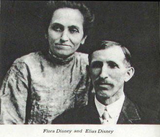 Walt's parents:  Elias & Flora.  Courtesy of Yesterland