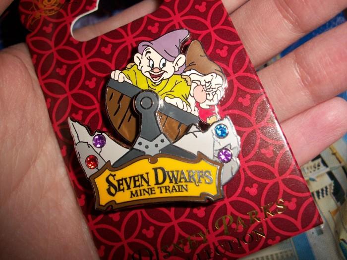Seven Dwarfs Mine Train PIn
