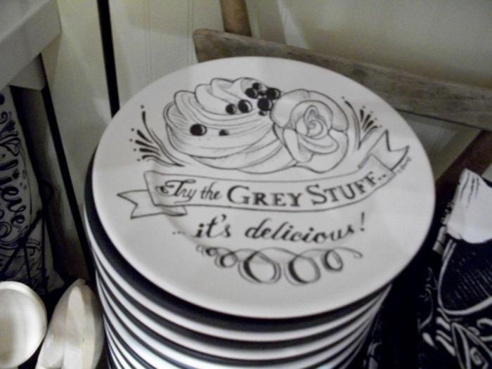 The Grey Stuff Dessert Plate